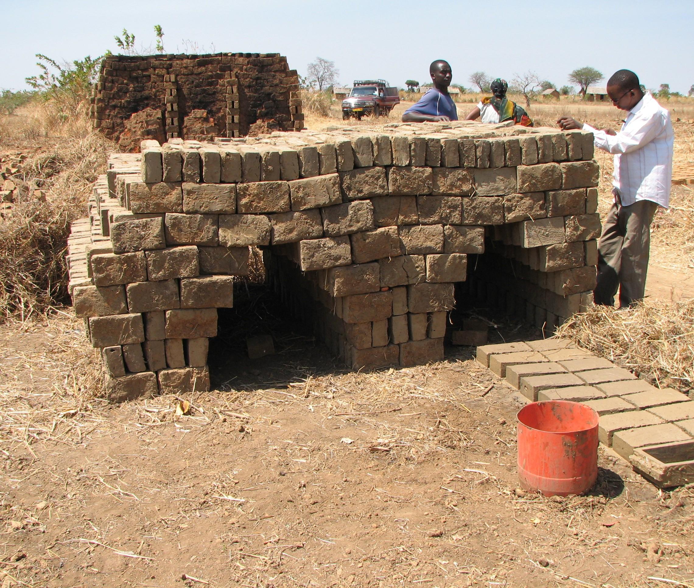 Image result for brick kilns tanzania